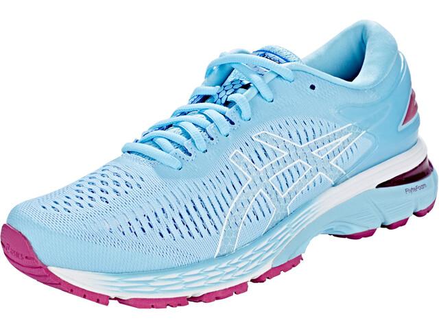 the latest 89c3d 31ceb asics Gel-Kayano 25 Running Shoes Women blue